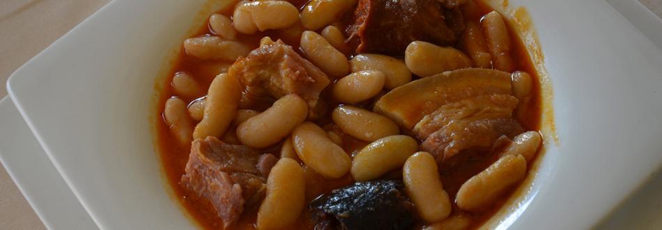 Plato fabada asturiana buenísima